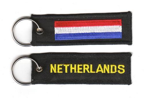 Fahnen Schlüsselanhänger Niederlande
