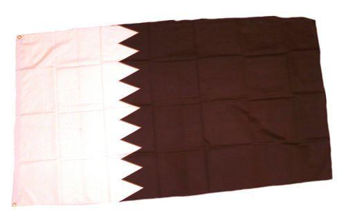 Flagge / Fahne Katar Hissflagge 90 x 150 cm