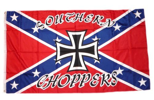 Fahne / Flagge Südstaaten - Southern Choppers 90 x 150 cm