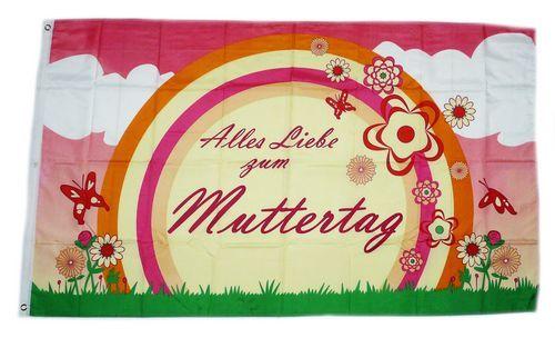 Fahne / Flagge Alles Liebe zum Muttertag 90 x 150 cm