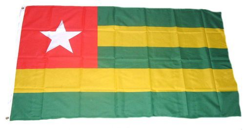 Flagge / Fahne Togo Hissflagge 90 x 150 cm