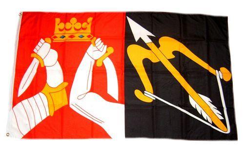 Fahne / Flagge Finnland - Nordkarelien 90 x 150 cm