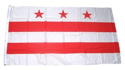 Fahne / Flagge USA - District of Columbia 90 x 150 cm