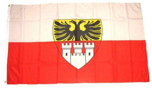 Flagge / Fahne Duisburg Hissflagge 90 x 150 cm