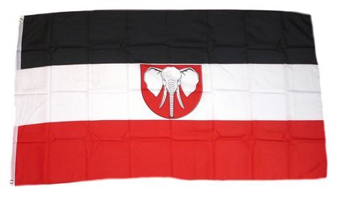 Fahne / Flagge Deutsch Kamerun 90 x 150 cm