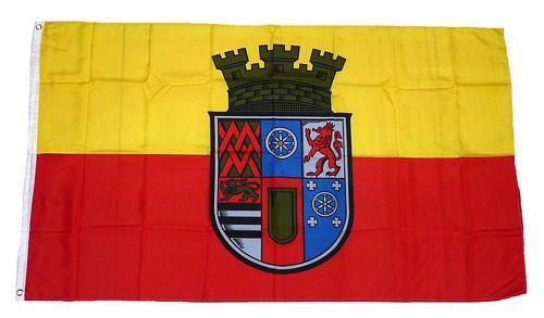 Flagge / Fahne Mülheim Ruhr Hissflagge 90 x 150 cm