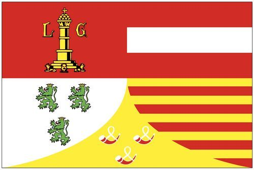 Fahnen Aufkleber Sticker Belgien - Lüttich
