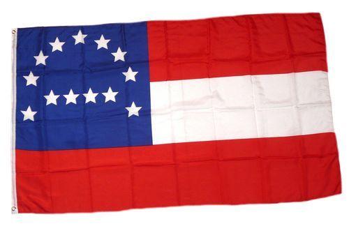 Fahne / Flagge Südstaaten - Robert Lee 90 x 150 cm