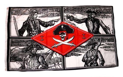 Fahne / Flagge Pirat Chief 90 x 150 cm