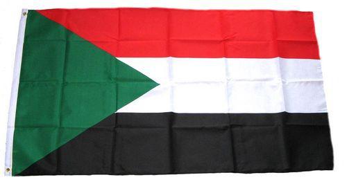 Flagge / Fahne Sudan Hissflagge 90 x 150 cm