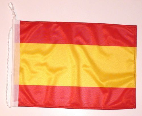Bootsflagge Spanien ohne Wappen 30 x 45 cm