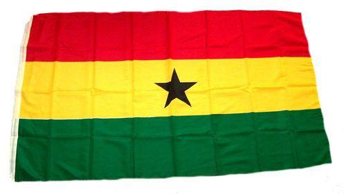 Flagge / Fahne Ghana Hissflagge 90 x 150 cm