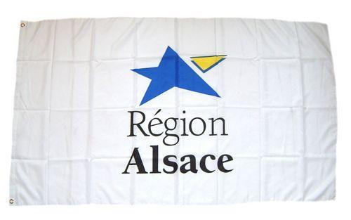 Fahne / Flagge Frankreich - Alsace 90 x 150 cm
