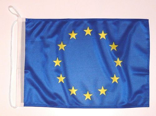 Bootsflagge Europa 30 x 45 cm