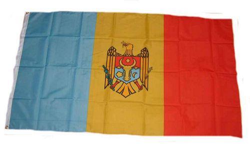 Flagge / Fahne Moldawien Hissflagge 90 x 150 cm Hissflagge
