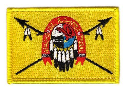 Fahnen Aufnäher Indianer - Apachen