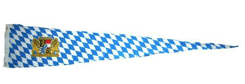 Langwimpel Bayern Löwen 30 x 150 cm