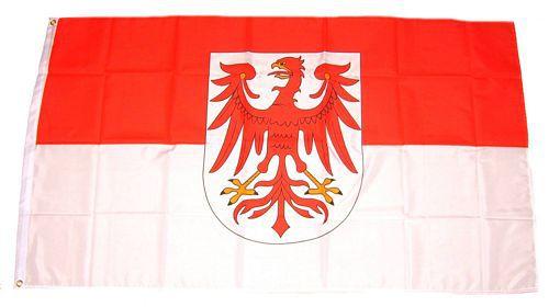 Flagge / Fahne Brandenburg Hissflagge 90 x 150 cm