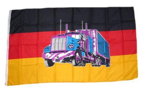Fahne / Flagge Deutschland Truck 90 x 150 cm