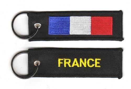 Fahnen Schlüsselanhänger Frankreich