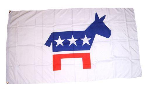 Fahne / Flagge USA - Demokraten 90 x 150 cm