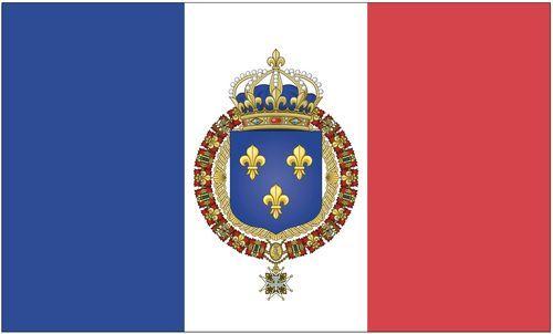 Fahne / Flagge Königreich Frankreich 90 x 150 cm