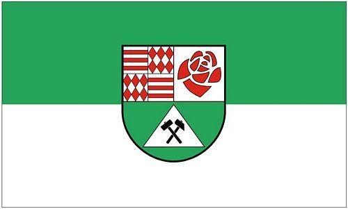 Fahne / Flagge Landkreis Mansfeld Südharz 90 x 150 cm
