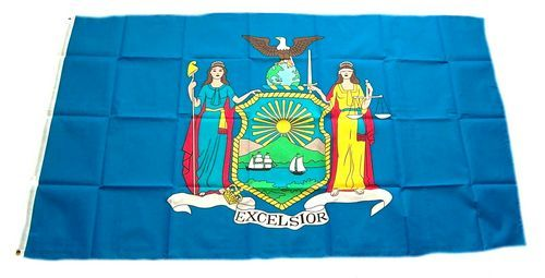 Fahne / Flagge USA - New York 90 x 150 cm