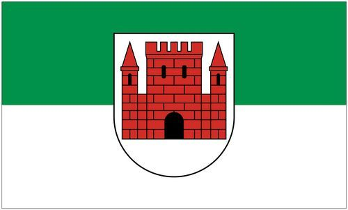 Fahne / Flagge Stadtroda 90 x 150 cm