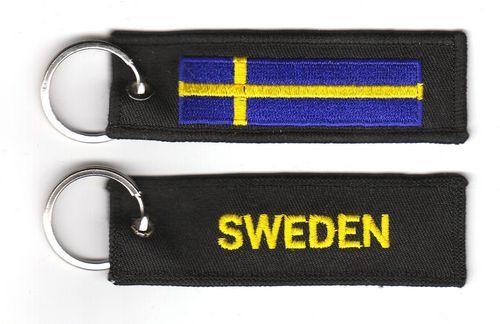 Fahnen Schlüsselanhänger Schweden