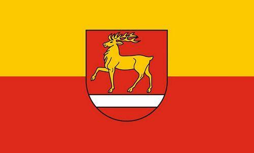 Fahne / Flagge Landkreis Sigmaringen 90 x 150 cm
