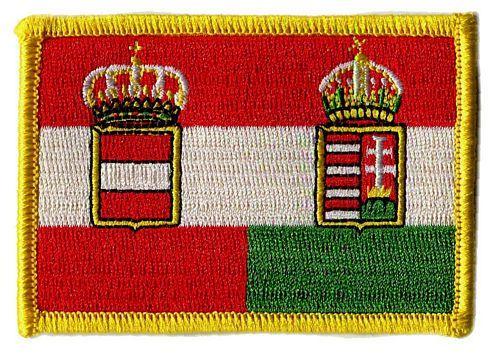 Fahnen Aufnäher Österreich Ungarn Handel