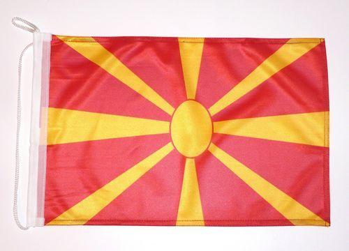Bootsflagge Mazedonien 30 x 45 cm