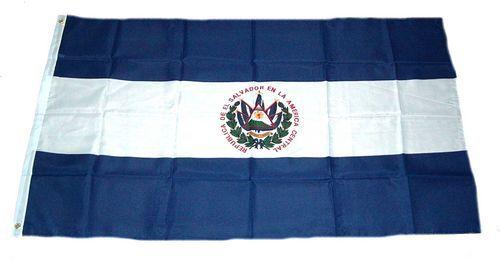 Flagge / Fahne El Salvador Hissflagge 90 x 150 cm