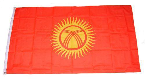 Flagge / Fahne Kirgistan Hissflagge 90 x 150 cm