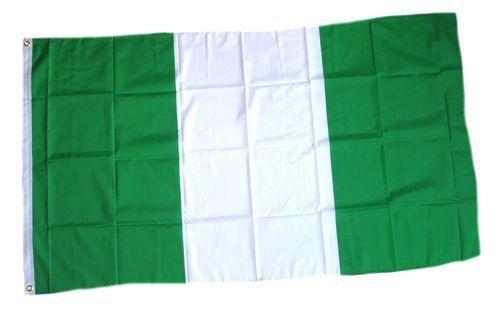 Flagge / Fahne Nigeria Hissflagge 90 x 150 cm