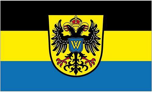 Flagge / Fahne Donauwörth 90 x 150 cm