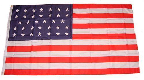 Flagge / Fahne USA - 34 Sterne 90 x 150 cm