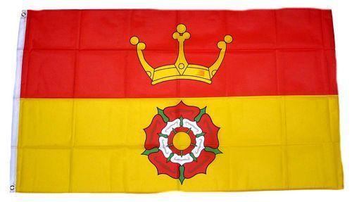 Fahne / Flagge England - Hampshire new 90 x 150 cm
