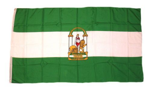 Fahne / Flagge Spanien - Andalusien 90 x 150 cm