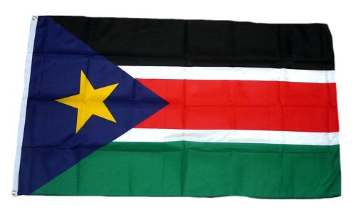 Flagge / Fahne Südsudan Hissflagge 90 x 150 cm