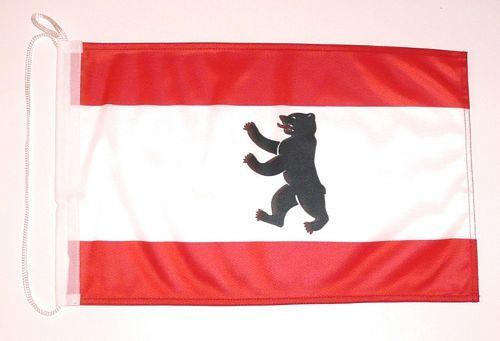 Bootsflagge Berlin 30 x 45 cm