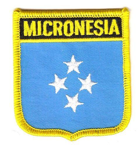 Aufnäher Mikronesien Patch Flagge Fahne