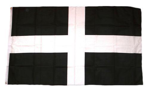 Fahne / Flagge England - St. Piran 90 x 150 cm