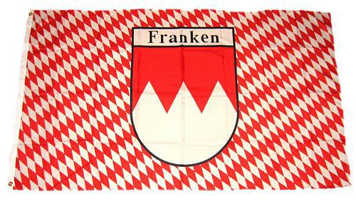 Flagge / Fahne Franken Raute Hissflagge 90 x 150 cm