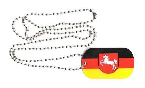 Dog Tag Fahne Niedersachsen