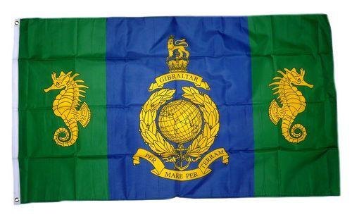 Fahne / Flagge Großbritannien Royal Marines Logistic Regiment 90 x 150 cm