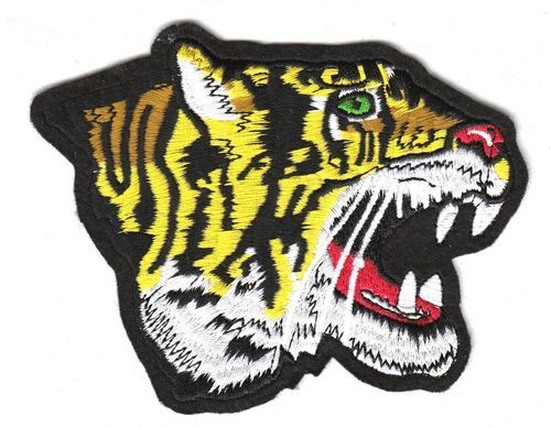 Aufnäher Patch Tiger