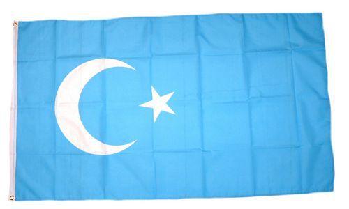 Flagge / Fahne China - Ostturkistan Hissflagge 90 x 150 cm