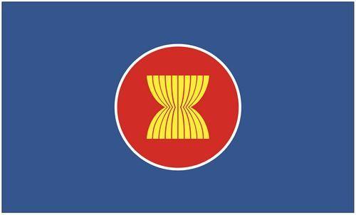 Fahne / Flagge Verband Südostasiatischer Nationen 90 x 150 cm